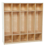Wood Designs 5-Section Coat Locker [51200-WDD]