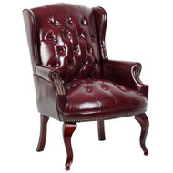 Boss Traditional Roll-Arm Side Chair [B809]
