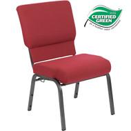 Advantage Burgundy Church Chair 20.5 in. Wide [PCHT-100WJ]