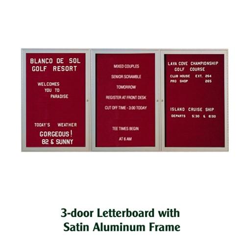 ghent 48x72 inch enclosed burgundy letterboard pa34872b bg satin