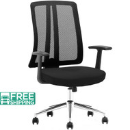 Black Mesh Office Chairs X1-03A-5 | Office Furniture | Office Chairs For Sale
