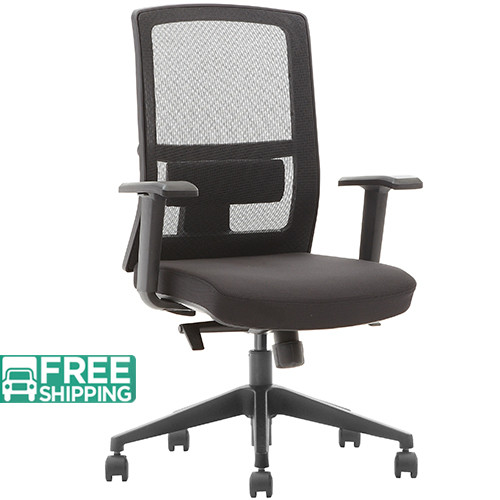 Black Mesh Office Chairs X3-52BT-MF | Office Furniture | Office Chairs For Sale