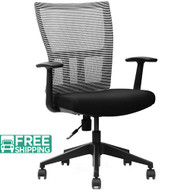 Black Mesh Office Chairs M1-BE | Office Furniture | Office Chairs For Sale
