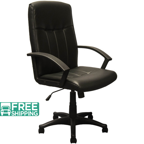 High Back Black Leather Executive Chairs KB-3001   Swivel Chairs