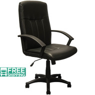High Back Black Leather Executive Chairs KB-3001 | Swivel Chairs
