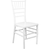 White Monoblock Resin Chiavari Chair | Chiavari Chairs For Sale