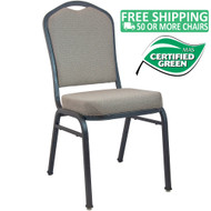 Advantage Premium Tan Speckle Crown Back Banquet Chair [CBMW-222]