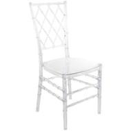 Advantage Clear Diamond Resin Chiavari Chair [RSCHI-CLR-DMD]