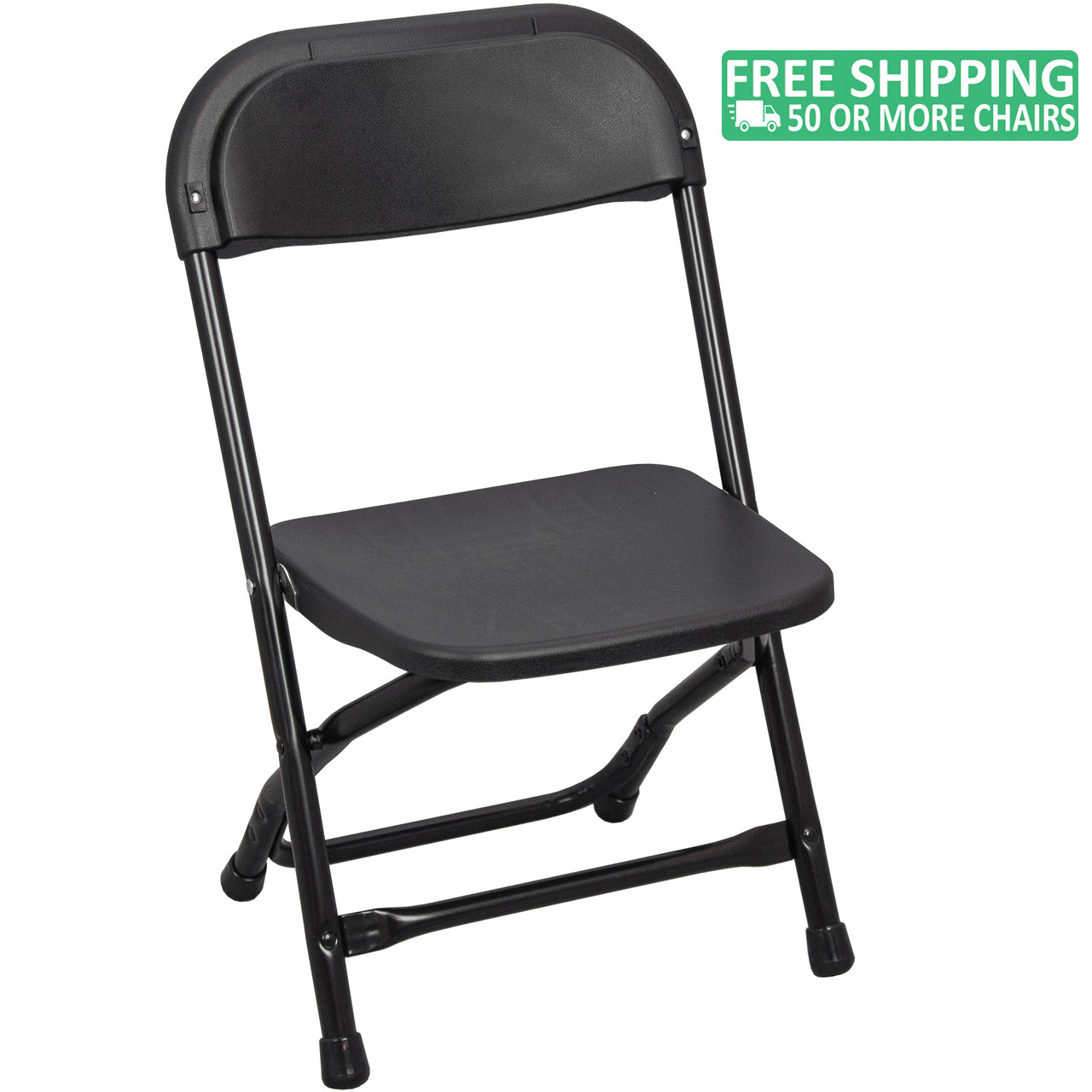 Kids Folding Chairs Black Plastic Foldable Chairs