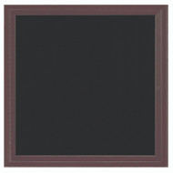 "Aarco Products 1 Door Enclosed Directory with Black Felt Letter Board and Bronze Anodized Aluminum Frame - 36""Hx30""W [ADC3636BA]"