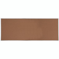 "Aarco Products Natural Pebble Grain Cork Bulletin Board with Aluminum Frame 48""Hx120""W [DB48120]"
