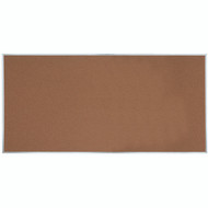 "Aarco Products Natural Pebble Grain Cork Bulletin Board with Aluminum Frame 48""Hx96""W [DB4896]"