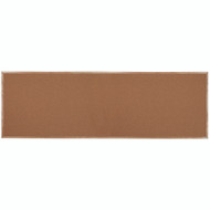 "Aarco Products Natural Pebble Grain Cork Bulletin Board with a Red Oak Frame - 48""Hx144""W [OB48144]"