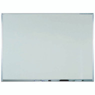 "Aarco Products White Melamine Marker Board with Aluminum Frame Size 36""Hx48""W [WAC3648]"