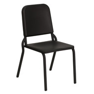 Advantage Black High Density Stackable Melody Band/Music Chair [HF-MUSIC-GG]
