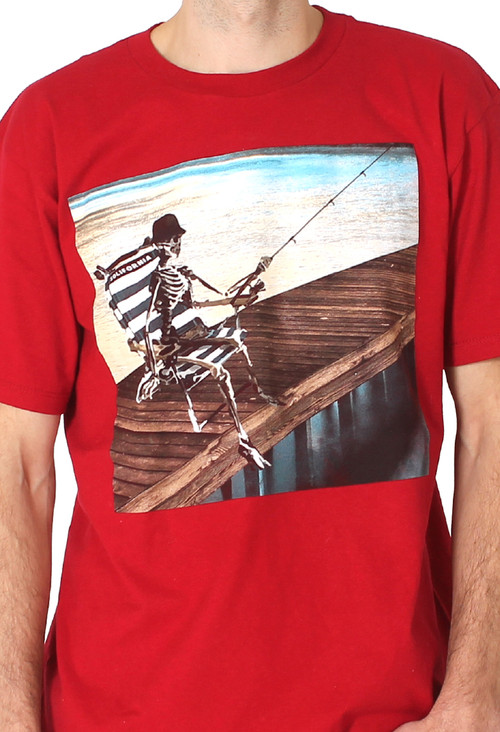 Red - Men | Last Cast Tee (Red) - Solifornia