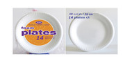 AXX10R - 10 1/4 INCH FOAM PLATES  14 PLATES