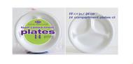AXX10RC - 10 1/4 INCH FOAM PLATES  14 PLATES