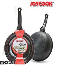 JOYCOOK -  32CM  DURASTONE MARBLE SERIES WOK PAN