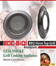 EDCG101 -  PORTABLE STOVE TOP ALUMINUM GRILL