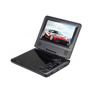 """SC178DVD - 7"""" Portable DVD Player with Swivel Display"""