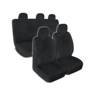 SC1122 - Deluxe Encore Car Seat Covers Low Back 9pc BLACK