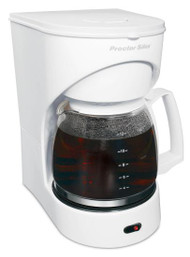 Proctor Silex 43501Y 12-Cup Drip Coffee Maker With Auto Pause and Serve