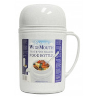 0.5 Liter Wide Mouth Glass Vacuum Food Thermo in Gray (RAZ05)