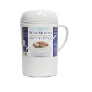 1.2 Liter Wide Mouth Glass Vacuum/Foam Insulated Food Thermo [RAZ12]