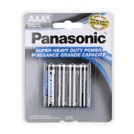 PANASONIC SIZE AAA 4 PACK BATTERY