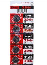 Maxell CR2016 3V Lithium (LiMNO2) Coin Cell Battery