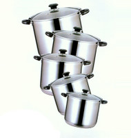 12 QT STAINLESS STOCK POT