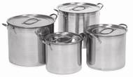 4 Piece Aluminum Nested Stock Pot
