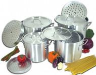 15 pcs stock pot set  WITH Steamer ( 20QT , 24QT , 32QT , 40QT, 50QT )