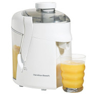 Hamilton Beach - HealthSmart Juice Extractor - White