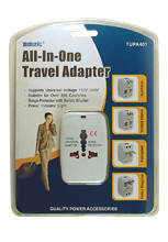 TUPA401 - All-In-On Travel Adapter