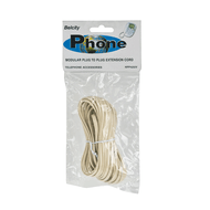 25FT MODULAR TELEPHONE EXTENSION CORD