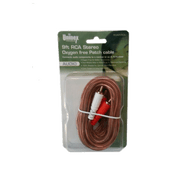 9 Foot RCA Stereo Oxygen Free Patch Cable