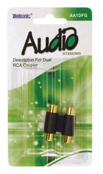 AA1DFG-Dual RCA Coupler