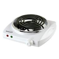 Electric Single Burner in White