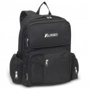 Backpack w/ Front Bottle Holder BLACK