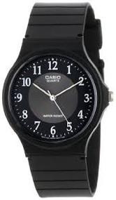 Casio  MQ24-1B3 3-Hand Analog Water Resistant Watch