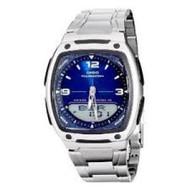Casio Men's AW81D-2AV Ana-Digi Stainless Steel Watch