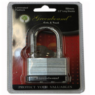 ITEM # 33397   50 mm   Laminated Lock ( 2.5 INCHES LONG )