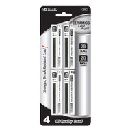 BAZIC 20 Ct. 0.5mm Ceramics Hi-Quality Mechanical Pencil Lead (4/Pack)