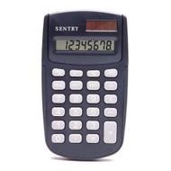Sentry Dual-Power Calculator, Black