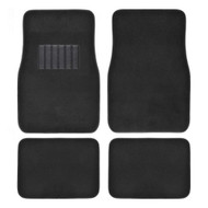 Auto Carpet Mats 4pcs  BLACK