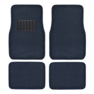 Metro Auto Carpet Mats 4pcs  BLUE
