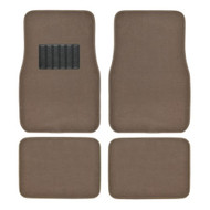 Metro Auto Carpet Mats 4pcs  BROWN