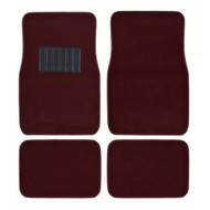 Metro Auto Carpet Mats 4pcs  BURGUNDY